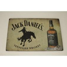 """Dekoratīvā plāksne """" Jack Daniels """""""